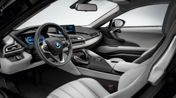 3 Photos BMW I8 Interior 2014