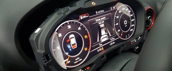 2015 Audi A3 Retrofitted With Virtual Cockpit Other Facelift