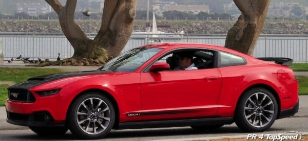 2016 Mustang Mach 1 >> 2015 Ford Mustang Mach 1 Rendering Autoevolution