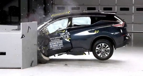 Nissan Rogue Safety Rating >> 2015 Nissan Murano Earns Top Safety Pick Plus Rating From