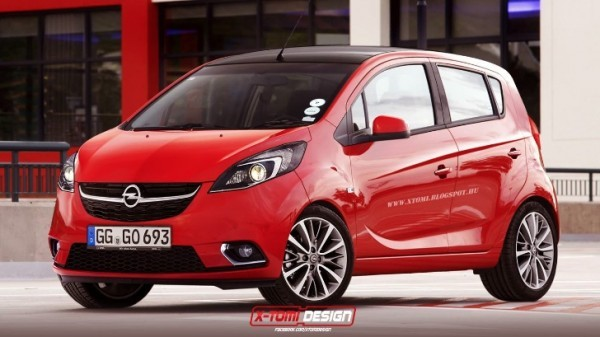 What Brands Does Volkswagen Own >> 2015 Opel Karl / Vauxhall Viva Rendered - autoevolution
