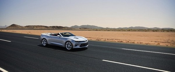 2016 Chevrolet Camaro Convertible Revealed, Has a Smarter ...
