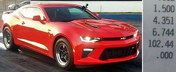 Updated: 2016 Chevrolet Camaro SS Gets Nitrous After 200