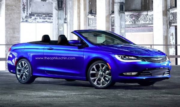 2017 Chrysler 200 Rendered In