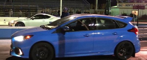 2016 Ford Focus Rs Gets Bolt Ons Hits Drag Strip For Impressive 1