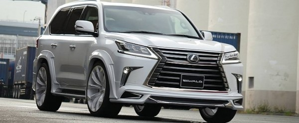 2016 lexus lx gets sporty kit from wald international