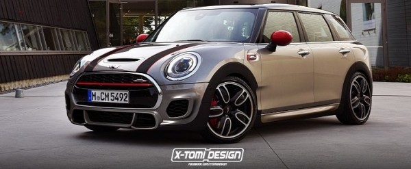 2016 Mini Clubman John Cooper Works Will Look As Good As This