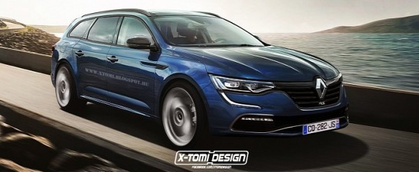 2016 renault talisman estate earns the r s treatment it will never happen in real life. Black Bedroom Furniture Sets. Home Design Ideas