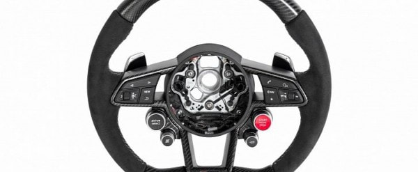 2017 Audi R8 Steering Wheels Tuned By Neidfaktor With Carbon Fiber