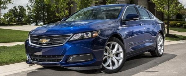 2017 Chevrolet Impala Ppv Finally Replaces Ninth Generation Model