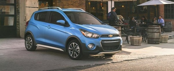 2017 chevrolet spark activ comes with trail inspired exterior trim autoevolution. Black Bedroom Furniture Sets. Home Design Ideas