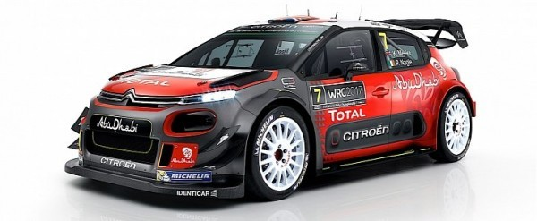 2017 citroen c3 wrc officially unveiled autoevolution. Black Bedroom Furniture Sets. Home Design Ideas
