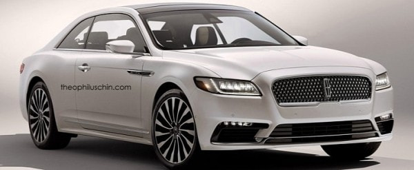 2017 Lincoln Continental Coupe Rendered: Why Ford Shouldn't Build ...