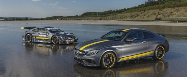2017 Mercedes-AMG C63 Coupe Edition 1 Launched Together with New DTM ...