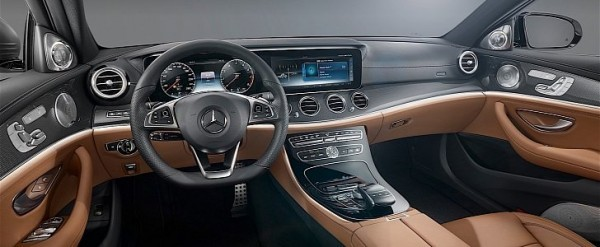 Mercedes Benz Interior >> 2017 Mercedes Benz E Class Interior Officially Unveiled