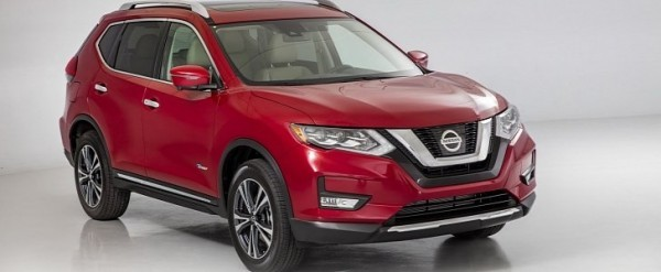 2017 nissan rogue hybrid now available to order priced from 26 240 autoevolution. Black Bedroom Furniture Sets. Home Design Ideas