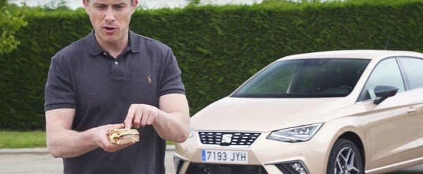 2017 seat ibiza explained using a sandwich, review talks about 1.5