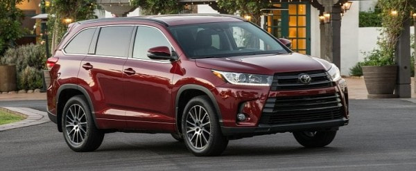2017 toyota highlander v6 updated with 8 speed automatic. Black Bedroom Furniture Sets. Home Design Ideas