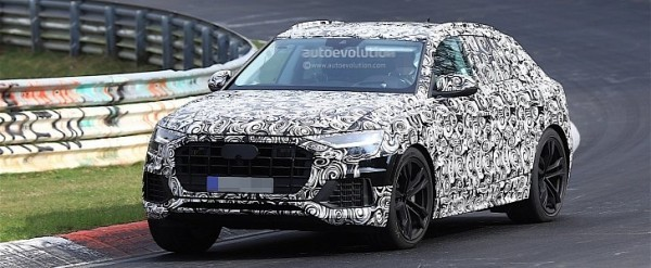Audi Q Spied At The Ring On The Day When It Was Confirmed - Audi q 745 car