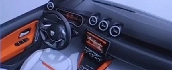 2018 Dacia Duster Interior Leaked Ahead of Frankfurt Motor Show ...