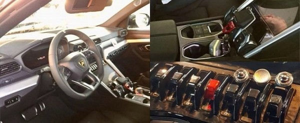 2018 Lamborghini Urus Interior Leaked Audi Sourced Bits Are Aplenty