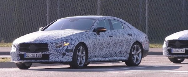 2018 mercedes benz cle cls convoy spotted with distinct for Mercedes benz cle
