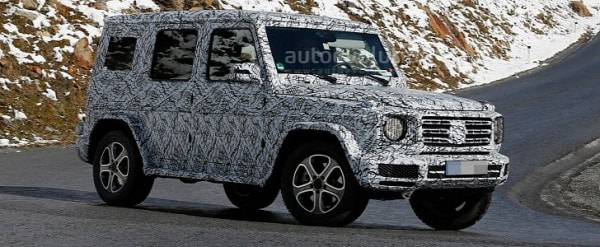 2018 Mercedes G Cl Sees Snow Gets Ready For Winter Testing