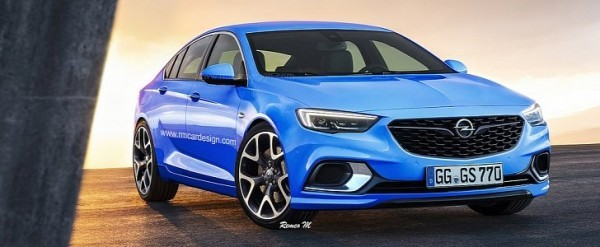 2018 opel insignia grand sport opc rendered to get turbo. Black Bedroom Furniture Sets. Home Design Ideas