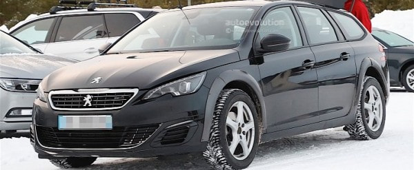 2018 peugeot 508 mule spied with modified 308 sw body autoevolution. Black Bedroom Furniture Sets. Home Design Ideas