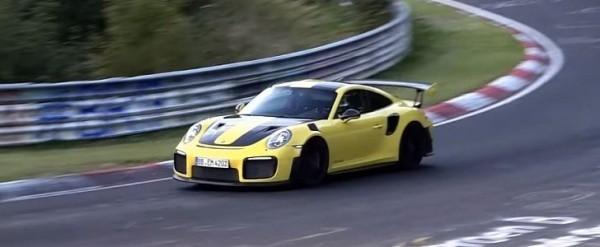 2018 porsche 911 gt2 rs reportedly sets 6 nurburgring lap record auto. Black Bedroom Furniture Sets. Home Design Ideas