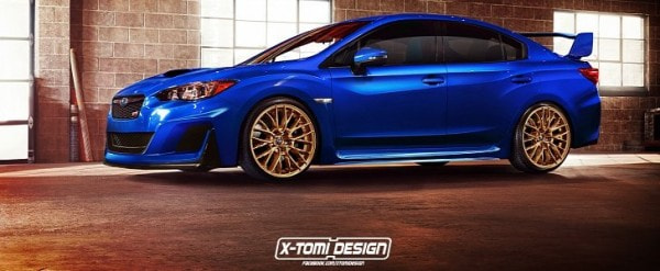 2018 Subaru Impreza Wrx Sti Might Look Like This