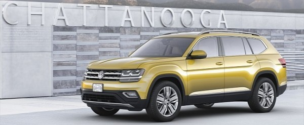2018 Volkswagen Atlas Available With VR6 Engine, Roomy
