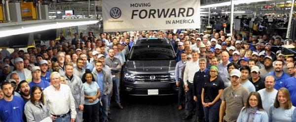 2018 Volkswagen Atlas Enters Production in Chattanooga - autoevolution