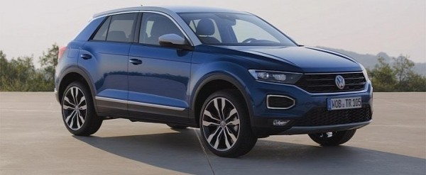 VW Golf SUV Comes As The 2018 VW T-Roc >> 2018 Volkswagen T-Roc Is Big, Bold and Comes With 190 HP ...