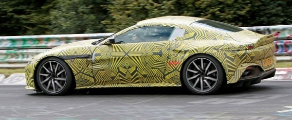 2019 Aston Martin V8 Vantage Driven Hard On The Nurburgring In