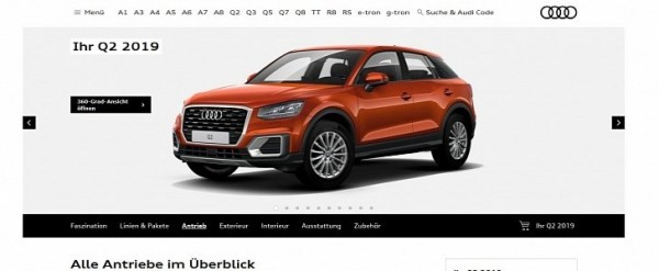 2019 Audi A3 and Q2 on Sale in Germany With Much Smaller