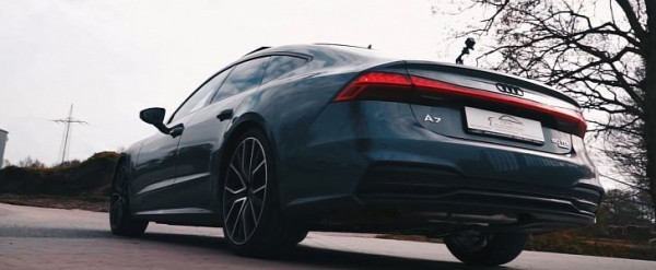2019 audi a7 50 tdi gets cool backfire thanks to active. Black Bedroom Furniture Sets. Home Design Ideas