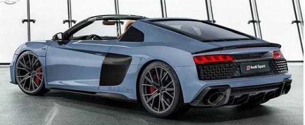 2019 Audi R8 Targa Rendered As Porsche 911 Targa Rival