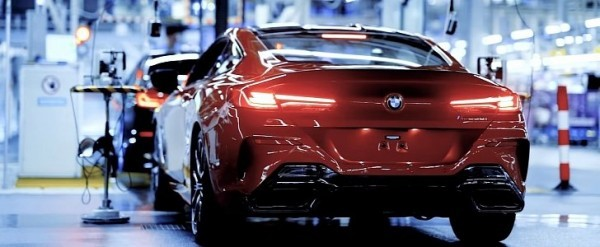 Bmw 8 Series Coupe Red