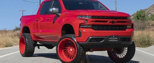 Red Chevy Silverado >> 2019 Chevy Silverado Red Dead Redemption Rolls 26 Inch