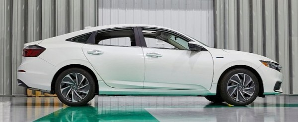 2019 Honda Insight Launched Into Production at Greensburg, Indiana Plant - autoevolution