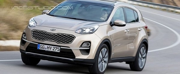 Kia Sportage 2018 Release Date >> 2019 Kia Sportage Facelift Gets New Ceed Headlights In Latest Rendering - autoevolution