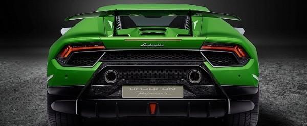 2019 Lamborghini Huracan Expected To Get Rear,Wheel Steering