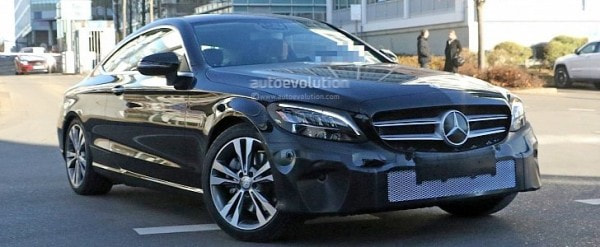 2019 Mercedes Benz C Class Coupe Facelift Shows All New Led