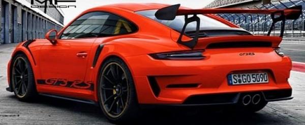 2019 Porsche 911 Gt3 Rs Color Palette Rendered Based On Leaked Images Autoevolution