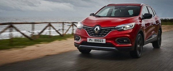 2019 renault kadjar facelift detailed in new photos and. Black Bedroom Furniture Sets. Home Design Ideas