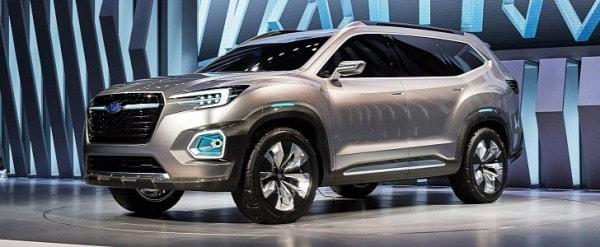 Subaru Tribeca 2016 >> 2019 Subaru Tribeca Mid Size 7 Seat Suv Previewed By Viziv 7 Concept