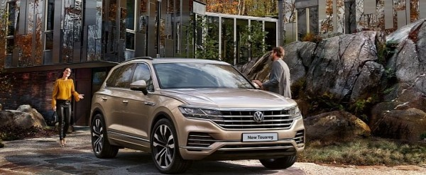 VW Touareg UK Pricing Starts At Matches Base Audi Q - Is audi made by vw
