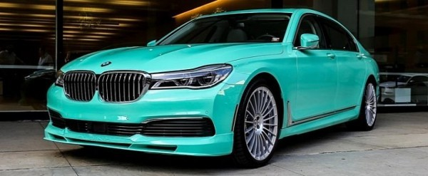 2020 Alpina B7 Shows Off Mint Green Paintwork Over Merino