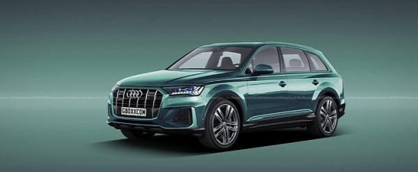 2020 Audi Sq7 Tdi Facelift Rendered Reveal Is Imminent Autoevolution